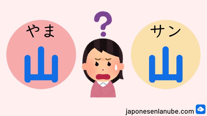 kunyomi onyomi japonés