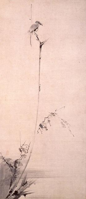 Sumi-e de Miyamoto Musashi