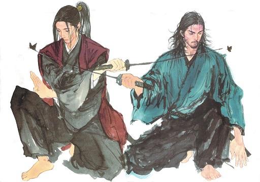 Sasaki Kojirō y Miyamoto Musashi