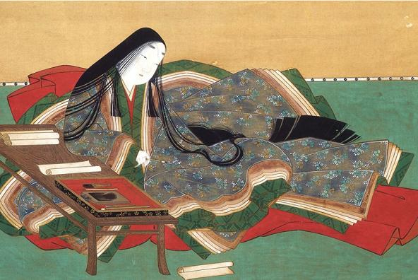 Retrato de Murasaki Shikibu
